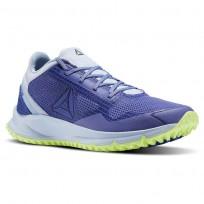 Reebok All Terrain Running Shoes Womens Lilac Shadow/Frsh Blue/Electric Flash BS9954