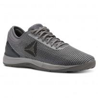 Reebok CrossFit Nano Shoes Womens Shark/Tin Grey/Ash Grey/Dark Silver CN2981