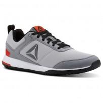 Reebok CXT TR Training Shoes Mens Skull Grey/Foggy Grey/Black/Carotene/Wht/Silv CN2668