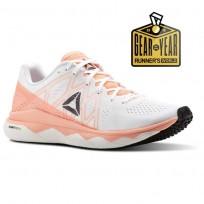 Reebok Floatride Run Running Shoes Womens Digital Pink/White/Black/Ash Grey CN4673