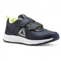 Reebok ALMOTIO 4.0 Running Shoes Boys Collegiate Navy/Electric Flash/Pewter CN4217