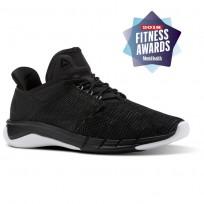 Reebok Fast Flexweave Running Shoes Womens Black/Coal/Flint Grey/White CN1401