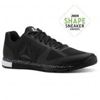 Reebok Speed Training Shoes Mens Black/White CN1010