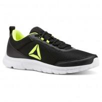 Reebok Speedlux 3.0 Running Shoes Mens We-Black/Solar Yellow CN5403
