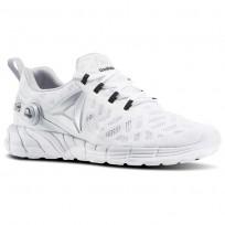 Reebok ZPump Fusion 2.5 Running Shoes Womens White/Skull Grey/Black/Silver Metallic AR2814