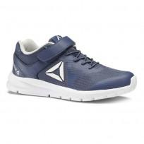 Reebok Rush Runner Running Shoes Kids Bunker Blue/Steel/White CN7246