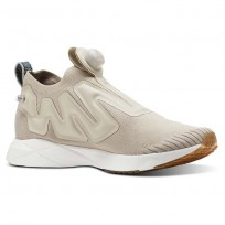 Reebok Pump Supreme Lifestyle Shoes Mens Utl Parchment/Chalk/Mineral Blue/Reebok Lee CN4667