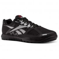 Reebok CrossFit Nano Shoes Mens Black/Zinc Grey J94326