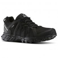 Reebok Trailgrip Walking Shoes Mens Black/Collegiate Navy BD4155