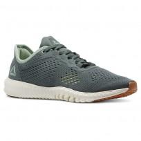Reebok Flexagon Training Shoes Womens Chalkgreen/Industrial Grn/Chalk/Lemonzest/Gum CN5193