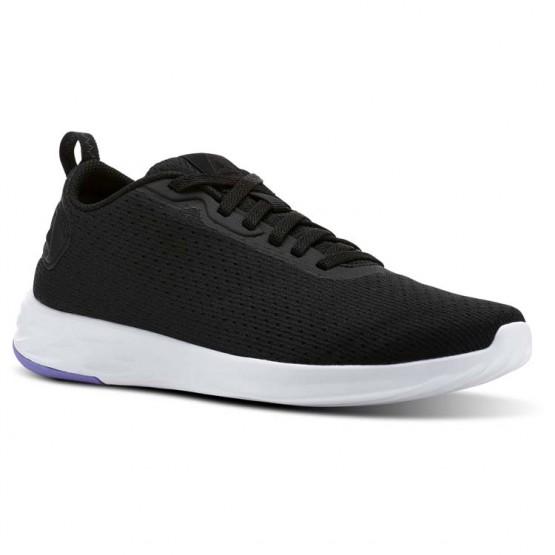 Reebok Astroride Walking Shoes Womens Black/Moonpool/White CN2334