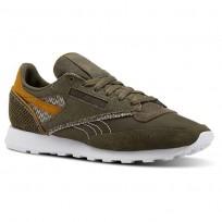 Reebok Classic 83 Shoes Mens Terrain Grey/Army Green/Whit/Soft Camel CN4509