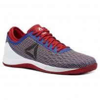Reebok CrossFit Nano Shoes Mens Excellent Red/Team Dark Royal/White CN1031