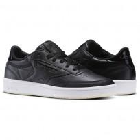 Reebok Club C 85 Shoes Womens Pearl-Black/White/Ice BD5816