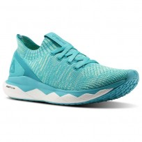 Reebok Floatride RS ULTK Lifestyle Shoes Womens Blue Lagoon/Solid Teal/Electric Flash/White CM8754