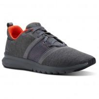 Reebok Print Running Shoes Mens Alloy/Coal/Atomic Red CN2642
