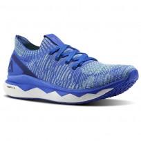 Reebok Floatride RS ULTK Lifestyle Shoes Mens Acid Blue/Blue Lagoon/Electric Flash/White CM8757