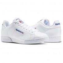 Reebok NPC II Shoes Mens White 1354