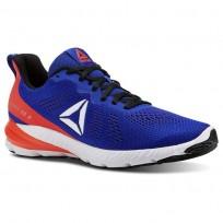 Reebok Sweet Road 2 Running Shoes Mens Blue Move/Atomic Red/Black/White CN2672