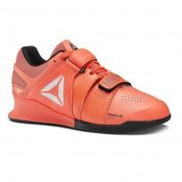 Reebok Legacy Lifter Shoes Womens Vitamin C/Black/White DV4675