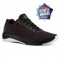 Reebok Flexweave Run Running Shoes Mens Black/Primal Red/Shark/White CN5098