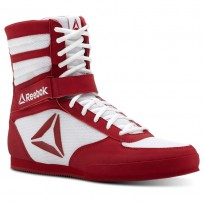 Reebok Boxing Tactical Shoes Mens White/Excellent Red CN4739