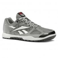 Reebok CrossFit Nano Shoes Womens Tin Grey/White/Black/Gravel J99451
