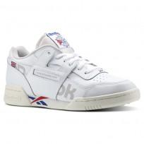 Reebok Workout Plus Shoes Mens Ativ-Wht/Darkroyal/Excellentred/Snowgry/Chalk DV4632