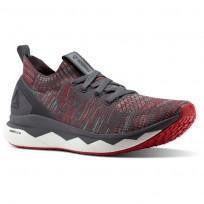 Reebok Floatride RS ULTK Lifestyle Shoes Mens Stark Grey/Ash Grey/Primal Red/White CN1090