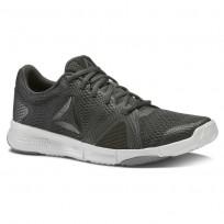 Reebok Flexile Training Shoes Womens Coal/Black/Skull Grey/Alloy CN1027