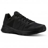Reebok Astroride Trail Walking Shoes Mens Black/Ash Grey/Primal Red CN2308