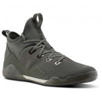 Reebok Combat Noble Tactical Shoes Mens Green/Iron Stone/Chalk/Coal BS6181