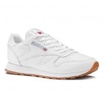 Reebok Classic Leather Schuhe Damen Weiß 49803