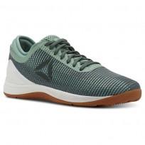 Reebok CrossFit Nano Shoes Womens Industrial Green/Chalk Green/Chalk/Gum CN2980