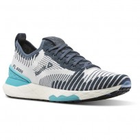 Reebok Floatride 6000 Lifestyle Shoes Womens Paynes Grey/Solid Teal/White CN2234