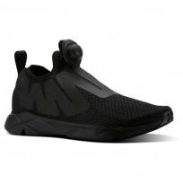 Reebok Pump Supreme Lifestyle Shoes Mens Reveal-Black/Coal/Ash Grey CN2941