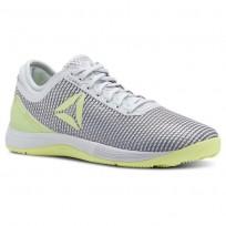 Reebok CrossFit Nano Shoes Womens Spirit White/Cool Shadow/White/Lemon Zest CN2979