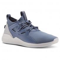 Reebok Cardio Motion Studio Shoes Womens Blue Slate/Cloud Grey/Spirit Wht/Digital Pink CN4865
