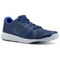 Reebok Flexile Training Shoes Mens Bunker Blue/Collegiatenvy/Vitalblue/Spiritwht CN5362