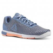 Reebok Speed TR Flexweave™ Training Shoes Womens Blue Slate/Spirit White/Digital Pink CN5508