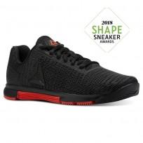 Reebok Speed TR Flexweave™ Training Shoes Womens Black/Carotene CN5504