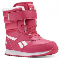 Reebok CL SNOW JOGGER Shoes Girls Twisted Pink/White/Light Pink CN4629