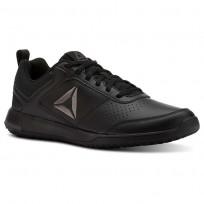 Reebok CXT Training Shoes Mens Black/Ash Grey/Silver CN2477