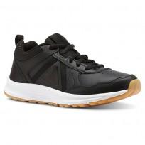 Reebok ALMOTIO 4.0 Running Shoes Boys Black/White/Gum Rubber CN4223