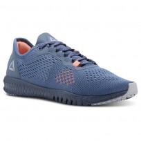 Reebok Flexagon Training Shoes Womens Blue Slate/Cloud Grey/Digital Pink CN2604