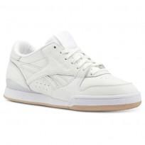 Reebok Phase 1 Pro Shoes Womens Enhanced-White/Bare Beige/Rose Gold/Chalk CN5460