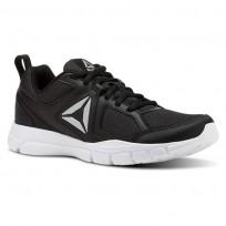 Reebok 3D FUSION TR Training Shoes Womens Black/Silver/White CN5259