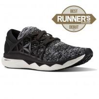 Reebok Floatride Run Running Shoes Mens Black/Coal/White CM9057