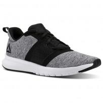 Reebok Print Running Shoes Mens Black/White CN2606