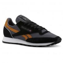 Reebok Classic 83 Shoes Mens Retro-Black/Ash Grey/Bold Brass/White CN3598